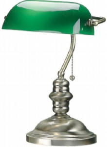 green lamp modified Setting Up Shop Part 5:  A Writer's Office Lighting