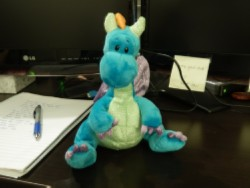 toy dragon Setting Up Shop Part 7: Desk Accessories & Office Decorations