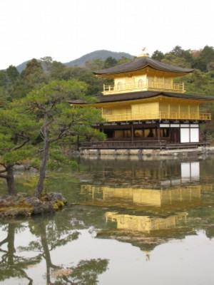 golden temple1  Kyoto, Japan: Silver and Golden Temples