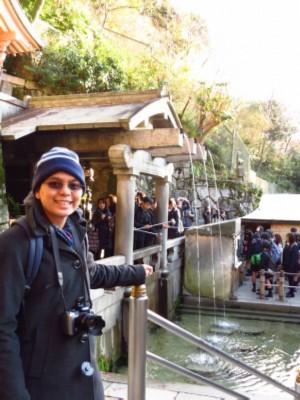 otowa waterfall Japan: Kiyomizudera Temple
