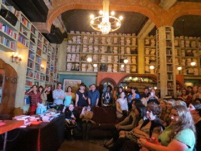 leigh bardugo book launch audience