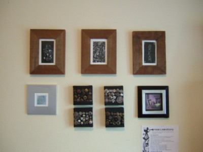 Christine Hurst arty crafty wall modified