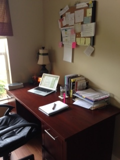 Work space Wednesday Writer's Workspace Welcomes Becca Puglisi
