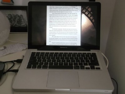 ww laptopscrivener modified Wednesday Writer's Workspace Welcomes Trisha F.