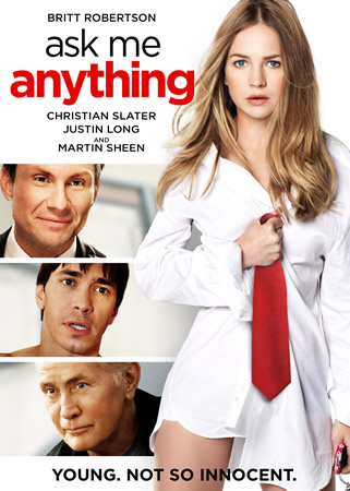 ASK ME ANYTHING POSTER Film Review: Ask Me Anything (Based on the Book Undiscovered Gyrl by Allison Burnett)